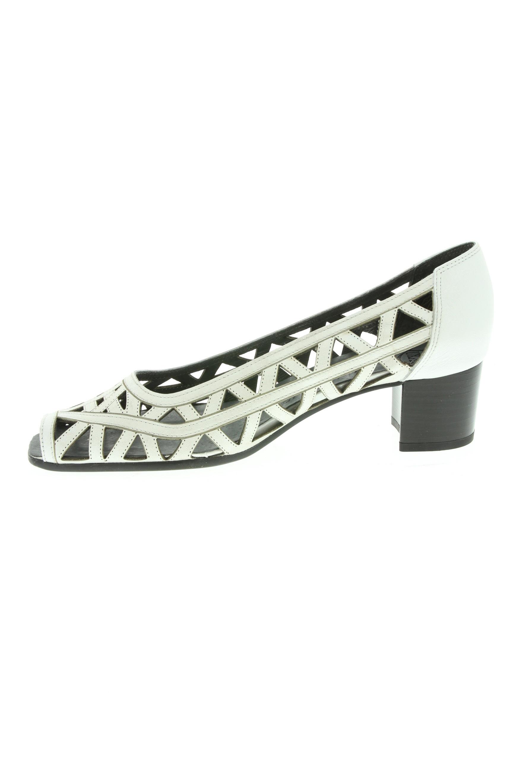 Luxat Escarpins Femme De Couleur Blanc En Soldes Pas Cher 1331768-blanc0