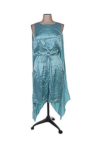 Robe mi-longue bleu BGN FIRST pour femme