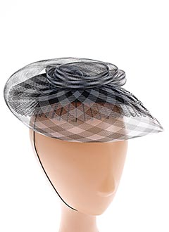 Chapeau gris PILL BOX pour femme