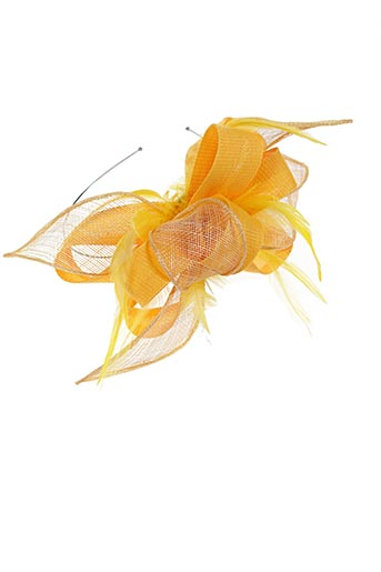 Accessoire pour cheveux jaune CAMALYA pour femme