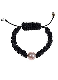 """Bracelet noir J""""LL PEARL pour femme"""