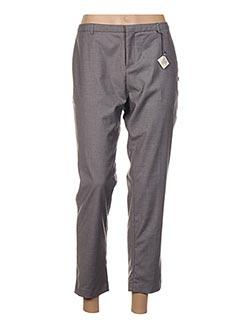 Pantalon chic gris SCOTCH & SODA pour femme