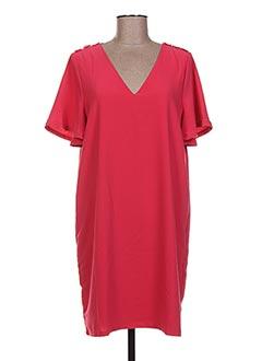 Robe courte rose VERO MODA pour femme