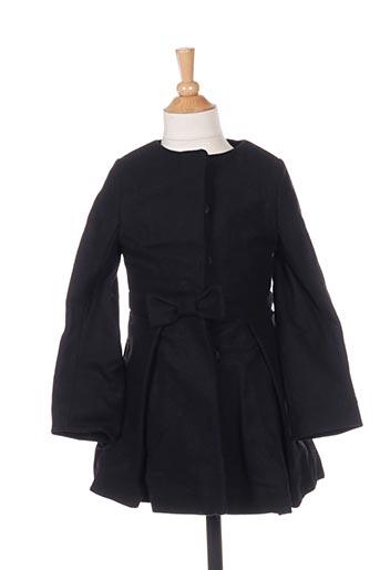 Manteau long noir MARESE pour fille