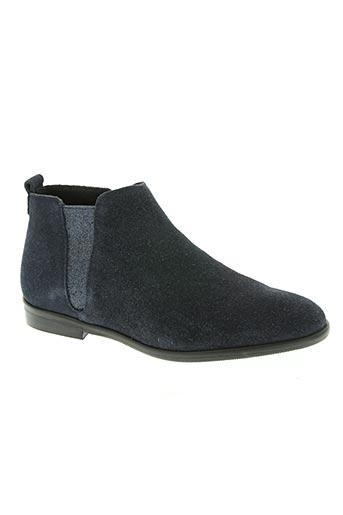Bottines/Boots bleu ALFA pour femme