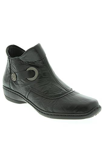 Bottines/Boots noir AMERICAN STADIUM pour femme