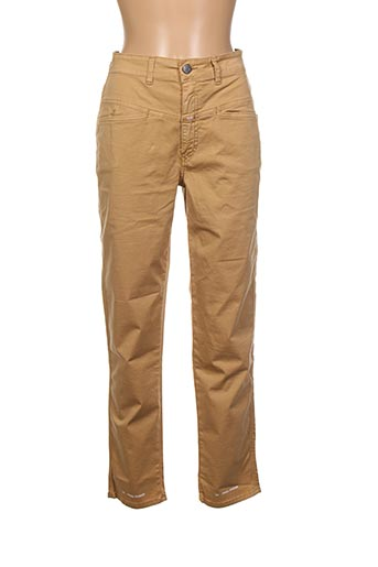 Pantalon 7/8 beige CLOSETTE pour femme
