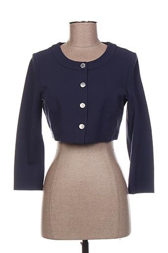 Veste casual bleu CAROLINE BISS pour femme