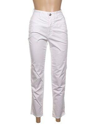Pantalon 7/8 blanc CLOSETTE pour femme