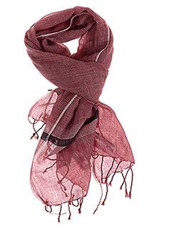 Foulard rouge MONSIEUR CHARLI pour homme