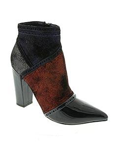 Bottines/Boots rouge FONTANA 2.0 pour femme