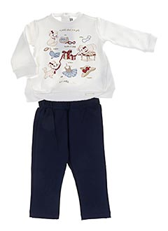 Top/pantalon bleu MAYORAL pour fille