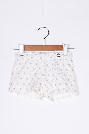 Short blanc MAYORAL pour fille