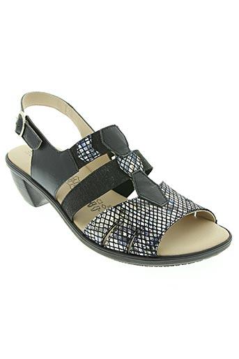 Sandales/Nu pieds bleu BOISSY pour femme