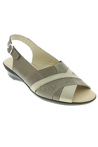 Sandales/Nu pieds marron BOISSY pour femme