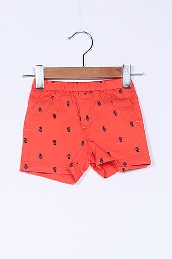 Short orange ABSORBA pour garçon