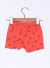 Short orange ABSORBA pour garçon seconde vue