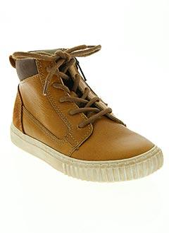 Baskets marron TELYOH pour garçon