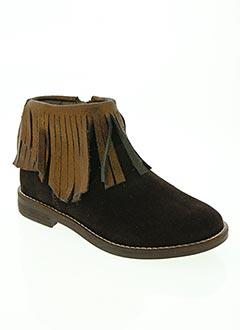Bottines/Boots marron TELYOH pour fille