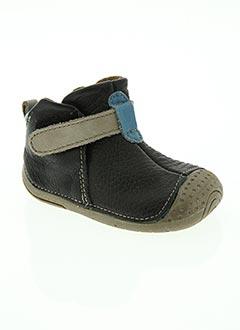 Bottines/Boots noir BABYBOTTE pour garçon
