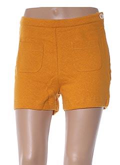 Produit-Shorts / Bermudas-Femme-BRIC-A-BRAC