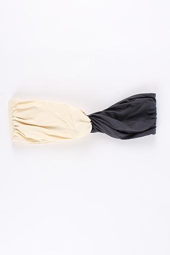 Haut de maillot de bain gris CARIOCACOLLECTION pour femme