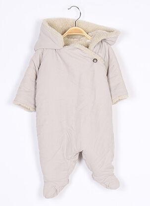 Combi-pantalon beige BONPOINT pour enfant