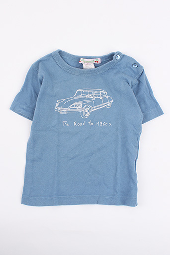 T-shirt manches courtes bleu BONPOINT pour garçon