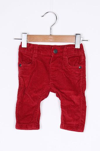 Pantalon casual rouge BABY CLUB pour garçon