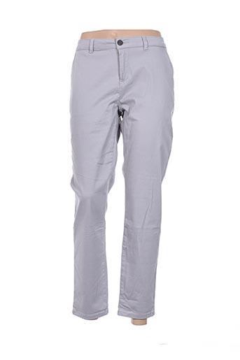 Pantalon casual gris CLOSETTE pour femme