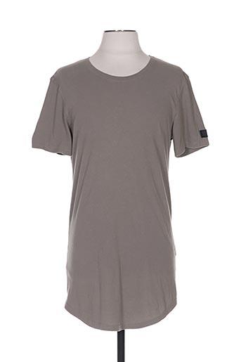 T-shirt manches courtes vert BLACK KAVIAR pour homme