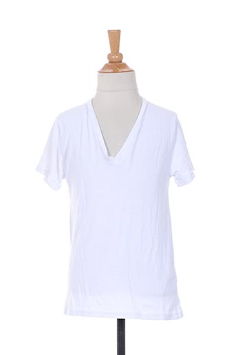 T-shirt manches courtes blanc BE AND BE THOUCH DOWN pour garçon