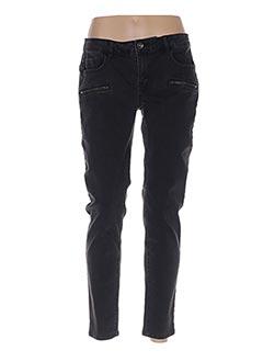 Pantalon casual noir LES P'TITES BOMBES pour femme