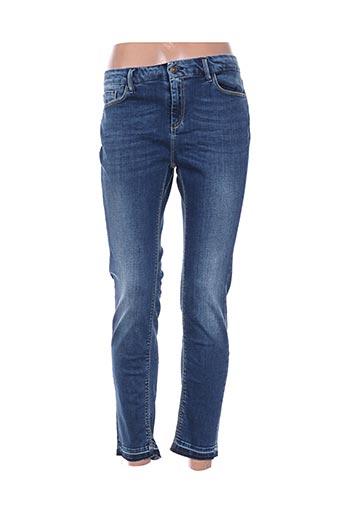 Pantalon 7/8 bleu LEE COOPER pour femme