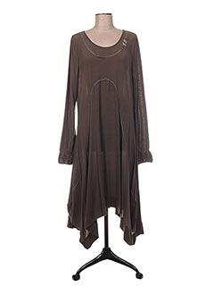 Robe mi-longue vert DECA pour femme