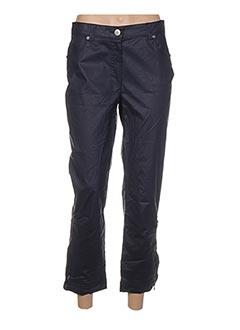 Pantalon 7/8 bleu DECA pour femme