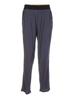 Pantalon 7/8 gris DECA pour femme
