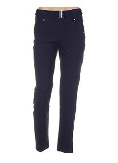 Pantalon chic bleu DECA pour femme