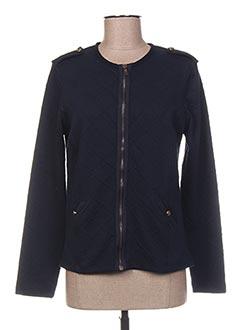 Veste casual bleu THALASSA pour femme