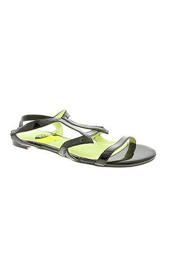 Sandales/Nu pieds noir CHOCOLATE SCHUBAR pour femme