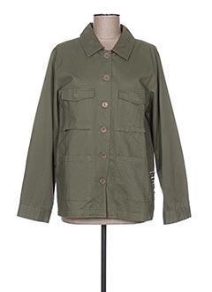 Veste casual vert GOA pour femme