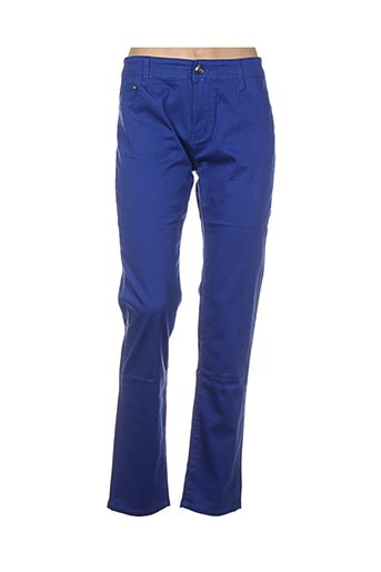 Pantalon casual bleu BS JEANS pour femme