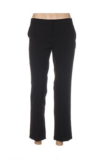 Pantalon casual noir CHARLIOR pour femme