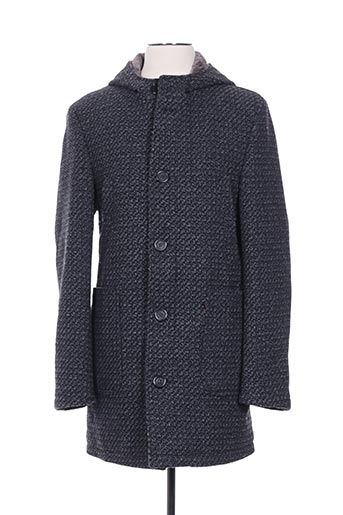 Manteau long gris CLUB OF GENTS pour homme