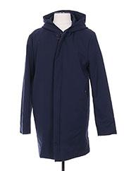 Manteau long bleu CLUB OF GENTS pour homme seconde vue