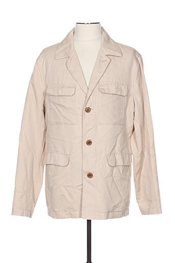 Veste casual beige GANT pour homme