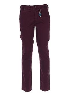 Pantalon casual violet MEN OF ALL NATION pour homme