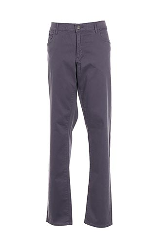 Pantalon casual gris TRUSSARDI JEANS pour homme