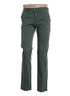 Pantalon casual vert MEN OF ALL NATION pour homme