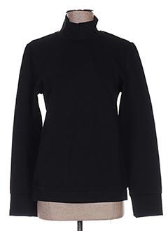 Sweat-shirt noir CUBIC pour femme